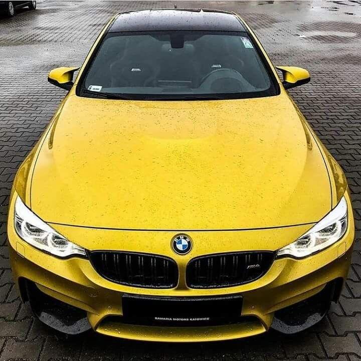 Bmw F82 M4 Yellow Rain Ultimate Driving Machine