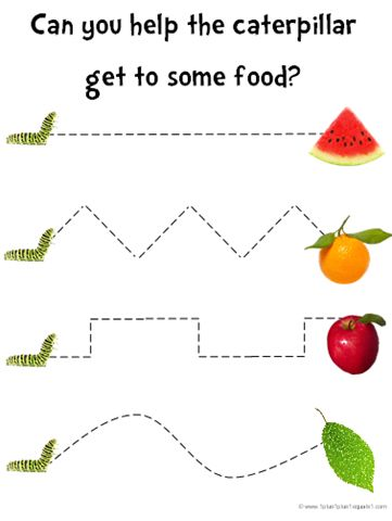 Preschooler activity - Great for The Very Hungry Caterpillar | Repinned by Personal Touch Therapy. Follow all of our pediatric therapy boards @Personal Touch Therapy
