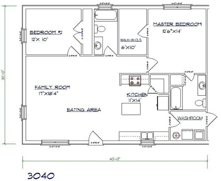 30x40 home plan