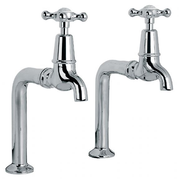 CH1590 Lefroy Brooks Connaught kitchen bibcock and pillar tap (1 Pair)
