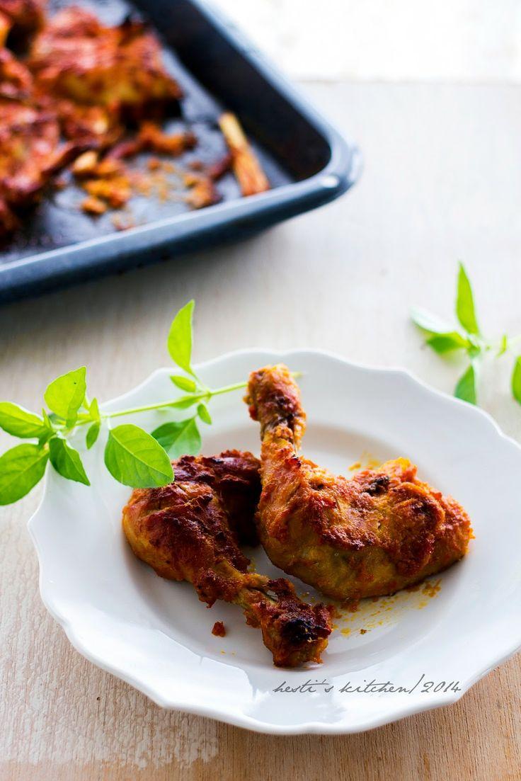 Ayam Bakar Bumbu Rujak | Hesti's Kitchen