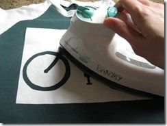 Freezer Paper Stenciling... maybe this year we'll provide the stencil and we can all make our own shirts!