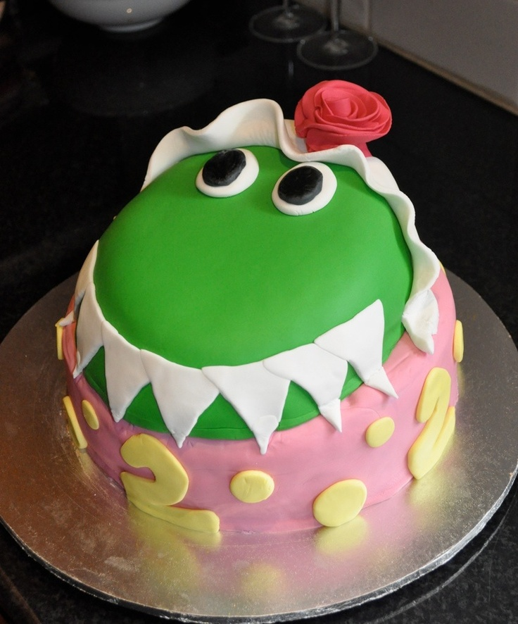 I made this Dorothy The Dinosaur Cake for my daughter, Romy, on the occasion of her 2nd birthday. It was a labour of love!