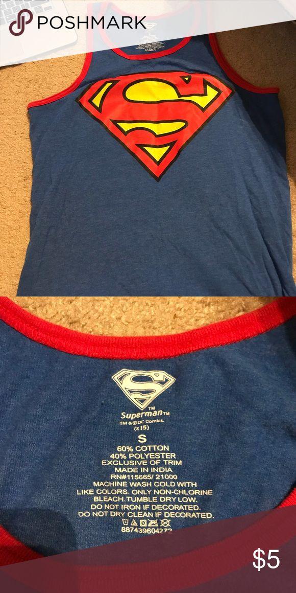 Superman tank top Men's Superman tank top DC Shirts Tank Tops