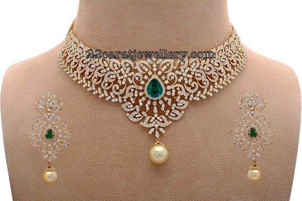 Diamond Set by Nikitha Linga - Jewellery Designs