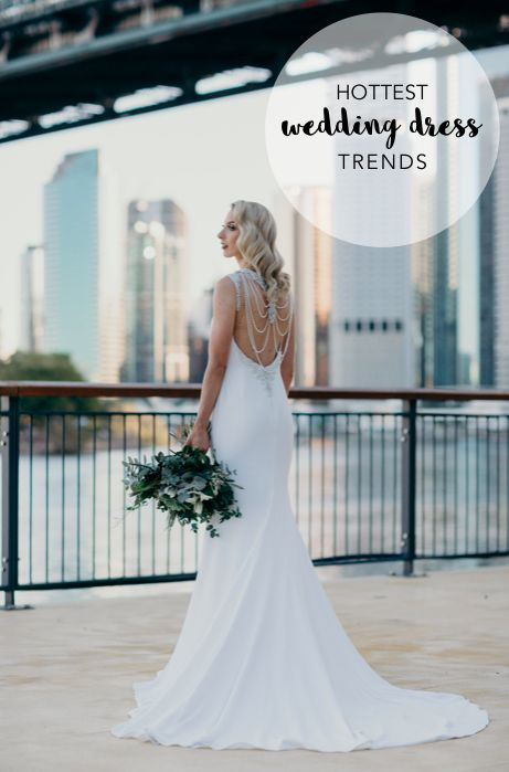 Trending now: Modern wedding dress trends and where to find them. Find out where here: http://www.forevaevents.com.au/hottest-wedding-dress-trends-spring-2017-find/