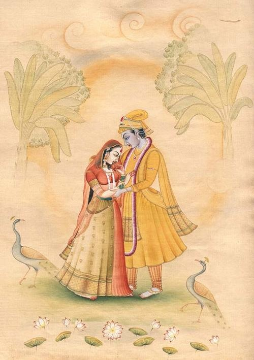Krishna and Radha: Be on The-Path-of-Love