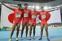 日本のタイム、国別で世界3位=男子400メートルリレー〔五輪・陸上〕:時事ドットコム