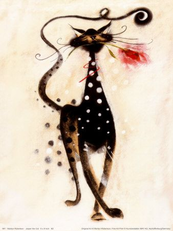 Jasper the CatArt Printby Marilyn Robertson: