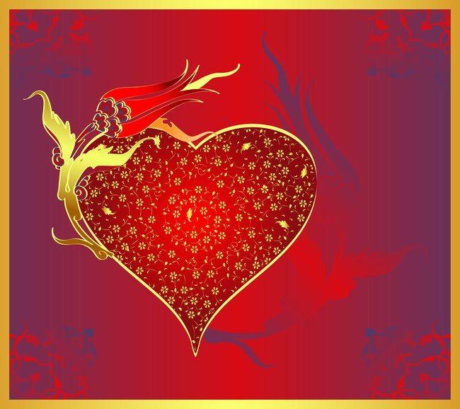 لون الحب الاحمر رومانسية خلفيات زفاف ملصق Wedding Posters Color Romantic Wedding