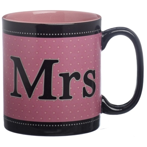 Mrs. Mug £4.99 - The Wedding Gift Company