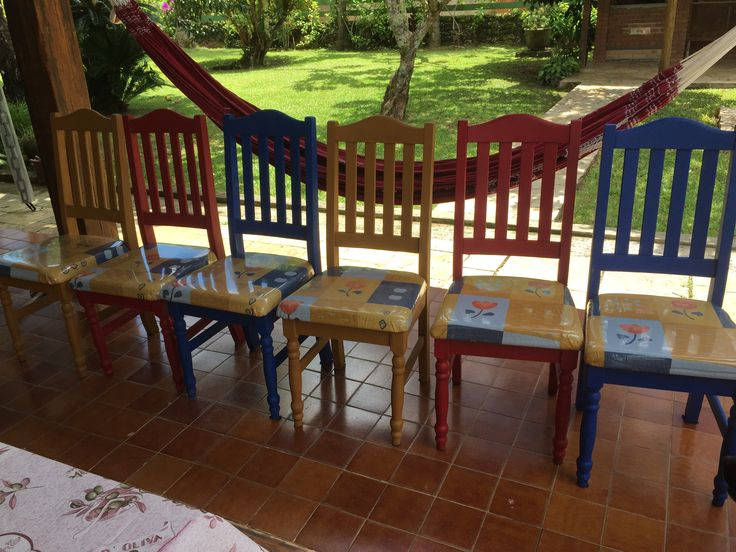 Cadeiras renovadas