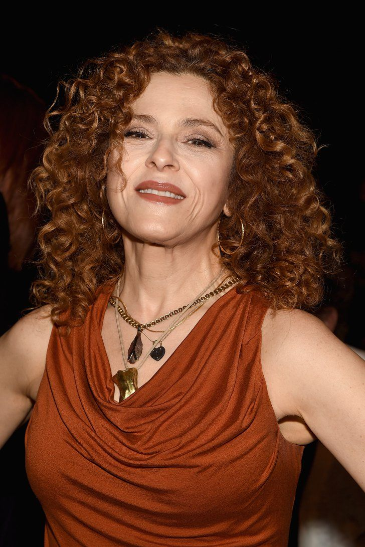 Pin for Later: These Celebrities May Be Prettier Than the Models at Fashion Week Bernadette Peters at Donna Karan New York