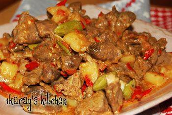 Resep Masakan Indonesia | Authentic Indonesian Recipes » Sambal Goreng Ati Ampela