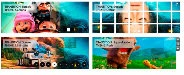 90 Awesome jQuery Slider Plugins