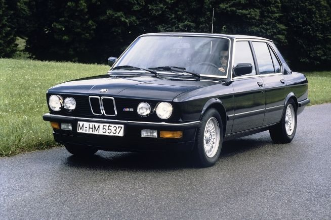 1985 BMW M5. I dream as if this were my first car.