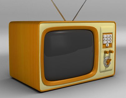 """Check out new work on my @Behance portfolio: """"Old Style TV"""" http://on.be.net/1K4AzBo"""