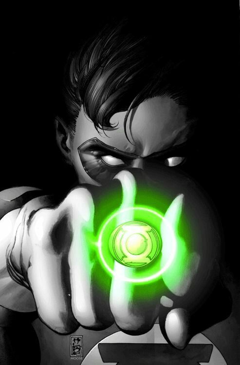 """In brightest day, in blackest night, No evil shall escape my sight. """