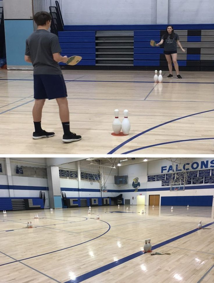 PE teacher Craig Kemmlein shares his modified tennis activity, inspired by the original game called PaddleZlam!