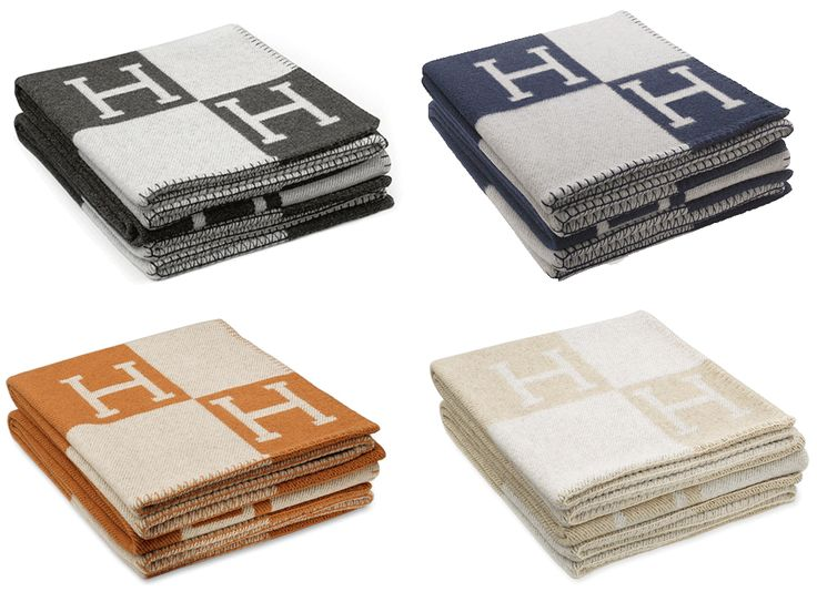 I probably want a Hermes Avalon Blanket more than anything else in the world.