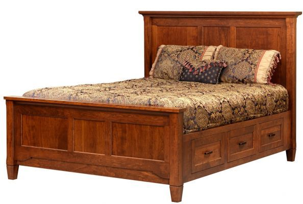 Kearny Storage Bed With Images Bed With Drawers Storage Bed