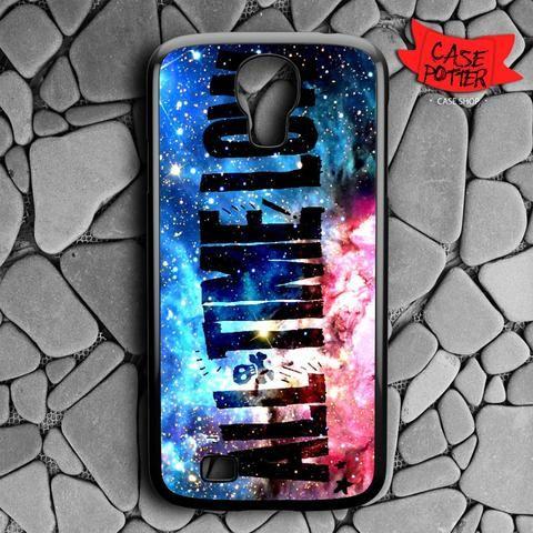 All Time Low Galaxy Nebula Samsung Galaxy S4 Black Case
