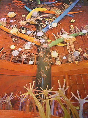 太陽の塔の内部-生命の樹