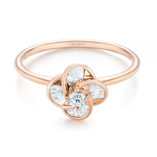 620 best Rose Gold images on Pinterest Bodas Diamond wedding