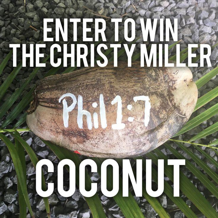 Robin Jones Gunn » Blog Archive Christy's Coconut Contest - Robin Jones Gunn