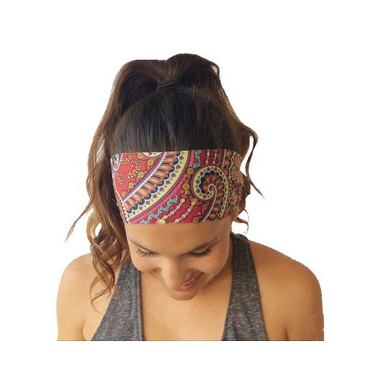 2016 New Women's Bohemian Chiffon Yoga Headband //Price: $6.77 & FREE Shipping //