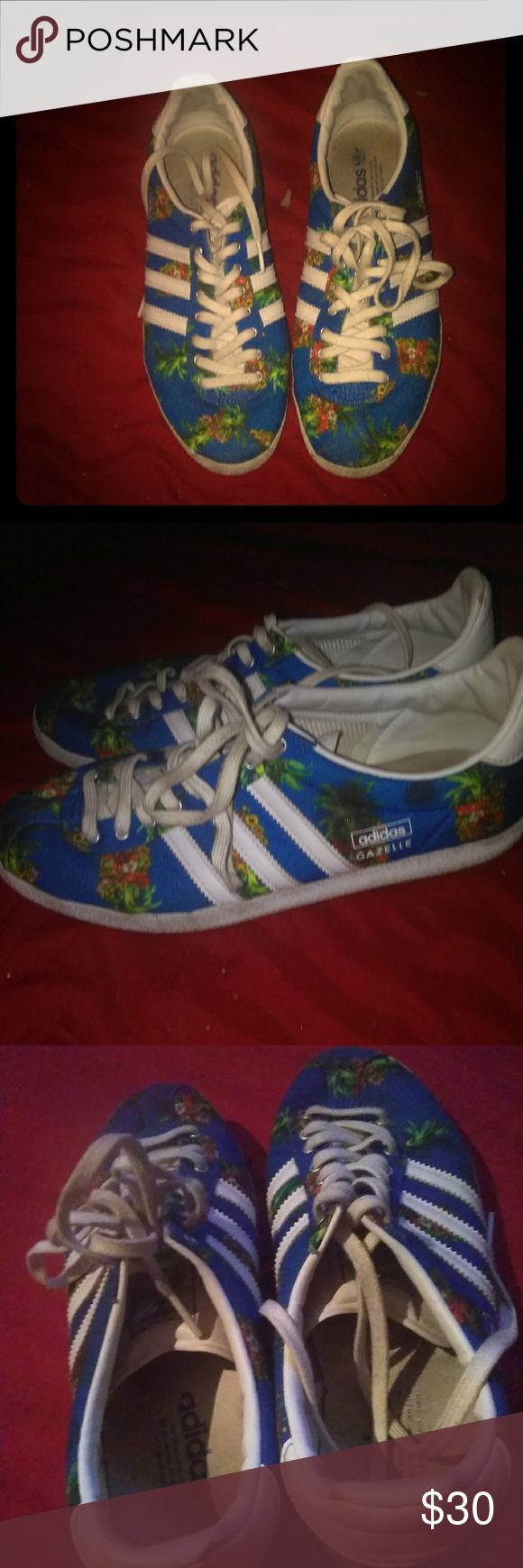 Adidas OG gazelle womens These are old school Adidas gazelle. Size 9 womens adidas Shoes Athletic Shoes