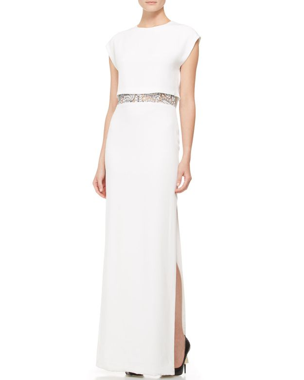 Adam Lippes, $1690 at Neiman Marcus | 52 Wedding Dresses That Aren't Strapless