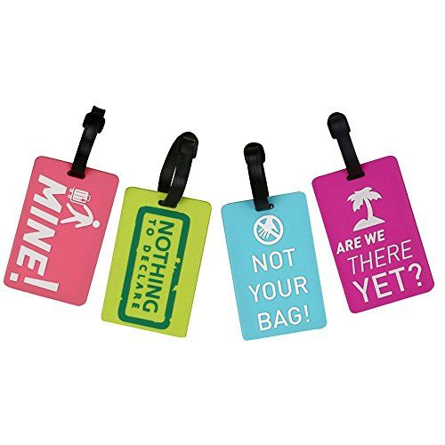 #Coolrunner #4pcs #Candy #Color #Luggage #Label #travel #accessories #Suitcase #Luggage #Tags ID #Address #Holder #Silicone #Identifier #Label Size:15*6cm Bright colors and distinct patterns help to identify luggages or suitcases easily Clear plastic window to protect #label that applied for writing name, #address, and telephone number https://boutiquecloset.com/product/coolrunner-4pcs-candy-color-luggage-label-travel-accessories-suitcase-luggage-tags-id-address-holder-silico