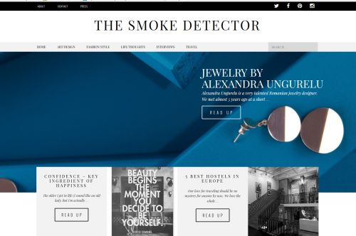 About my work and my love for jewelry. Thank you TheSmokeDetector.net!!