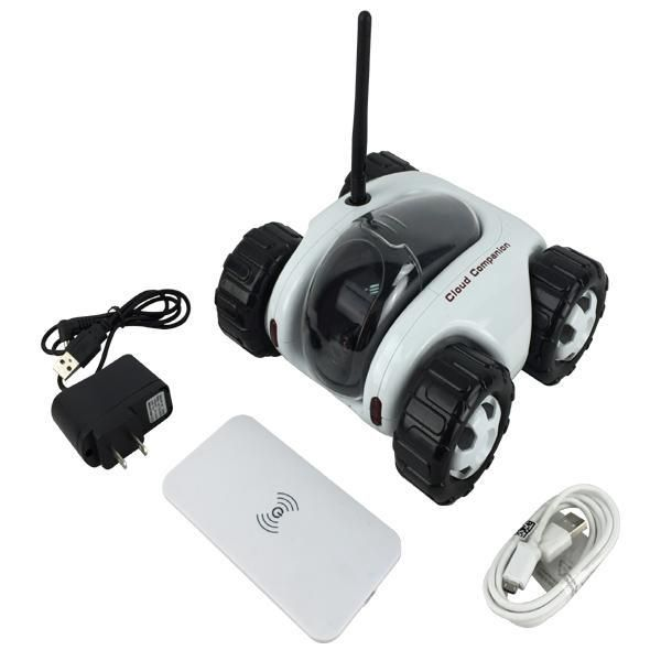 """Cloud Companion adalah IP camera beroda 4 seperti mobil pada umumnya, dapat…"