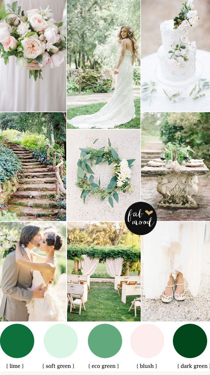 27 best images about wedding color palettes on pinterest for Green spring gardens wedding