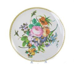 Antique Melamine Plate Colourful Bouquet | Iko Iko, the most exciting shop for gifts, homewares, accessories and more.