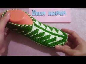 Yeni Moda patik yapımı tığ işi kendin yap - YouTube
