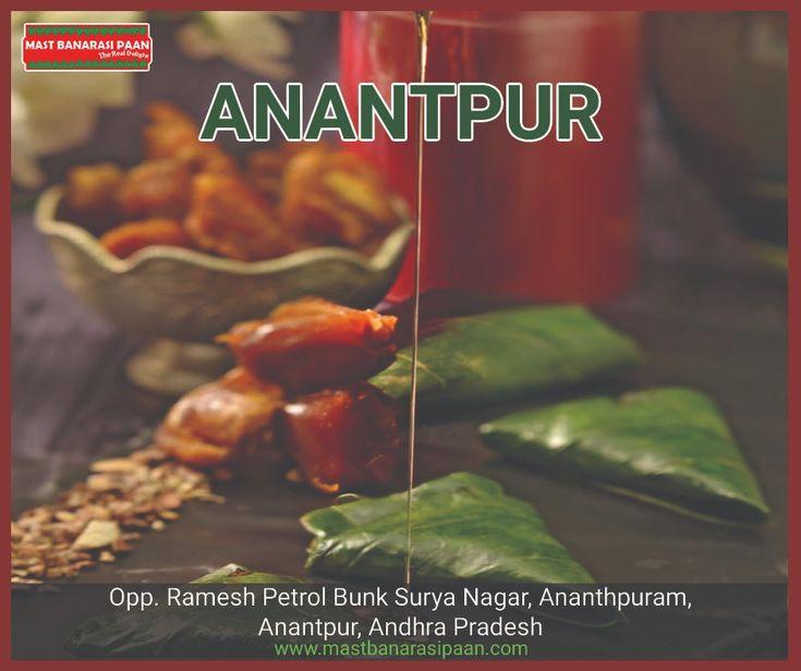 Mast Banarasi Paan Anantpur Outlet Family Paan Cafe For Paan Franchise Visit Www Mastbanarasipaan Com Or Call At 8826094095 Paan Fran Flavors Food Anantapur