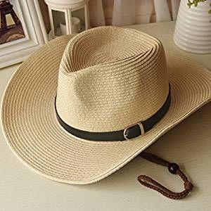 D. hat uomini e donne i cappelli cappelli da cowboy estate fisherman giovane tappo cappuccio spiaggia ombrellone Stetson hat ,58-60cm, beige