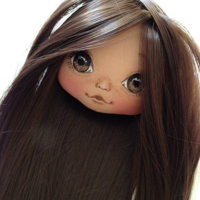 Будет брюнеточка;) #кукла #куклы #купить #куколка #олли #doll #dolls #artdoll #textilledoll