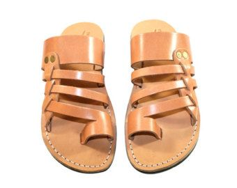 Caramel Skate Leather Sandals