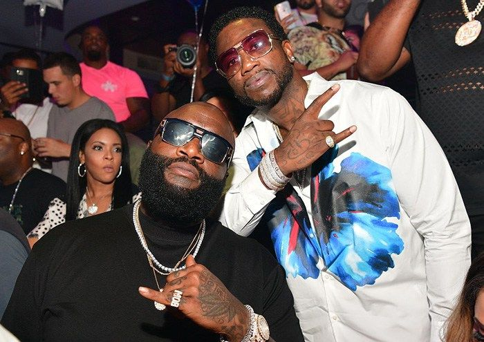 [Audio] : Rick Ross Ft. Gucci Mane  She On My Dk