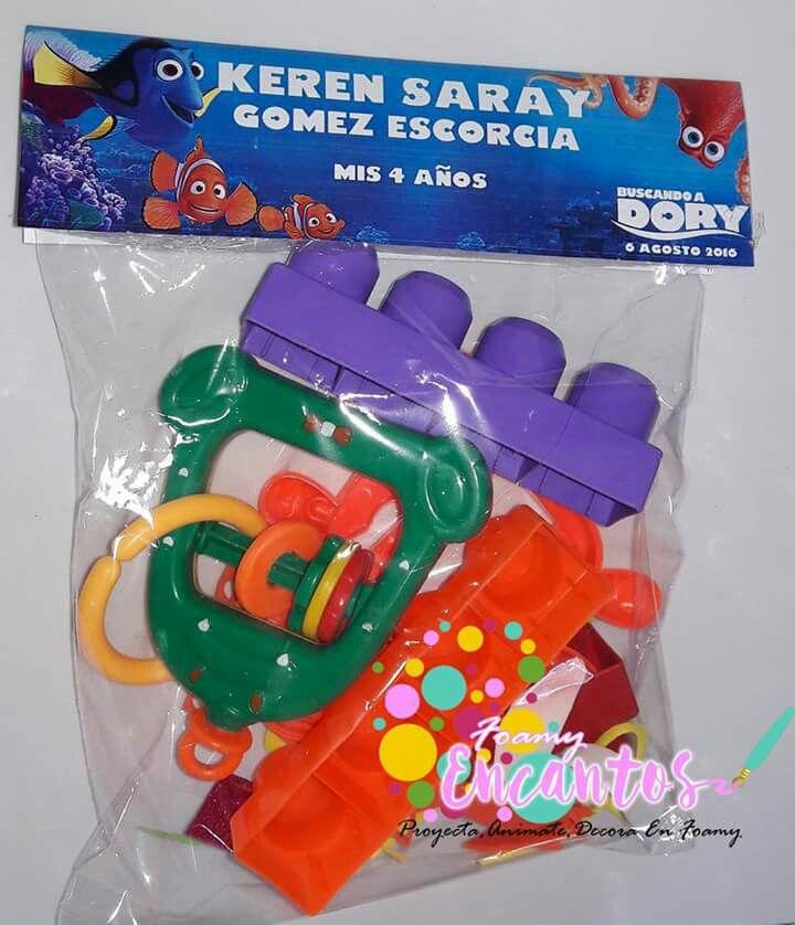 Bolsa de dulces o sorpresa buscando a Dory