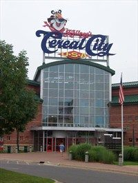 Kellogg's Cereal City Factory Tour~ Interesting and the kids thought it was cool!