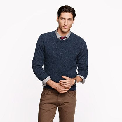Blue sweater, brown pants | my style | Pinterest | Brown pants and ...