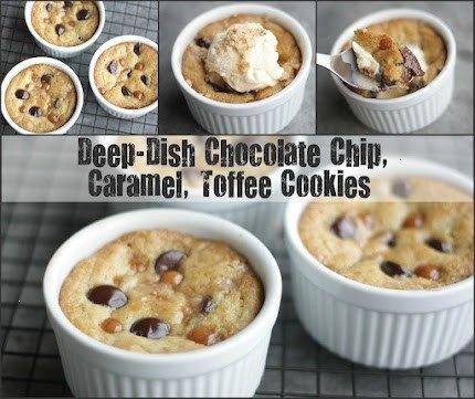 deep-dish cookies