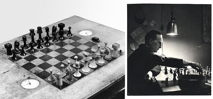 Marcel Duchamp : The Art of Chess - Specific Object