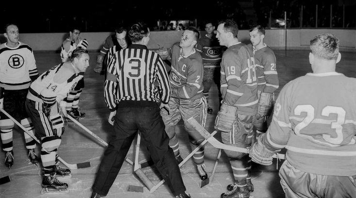 Habs Bruins 1950's