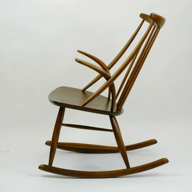 Scandinavian Rocking Chair by Illum Wikkels